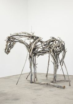 Find the latest shows, biography, and artworks for sale by Deborah Butterfield. Deborah Butterfield's sculptures of horses appear to be fashioned from branches, scrap metal, and weathered lumber. She …