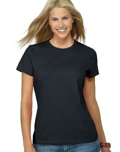 Hanes ClassicFit Jersey Womens TShirt 2XLBlack * Click image to review more details.Note:It is affiliate link to Amazon.