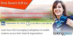 #USUAggies #LookingGlass #Banner Integrated #Portal Showcase Webinar Today.