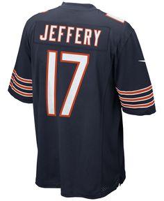 Nike Men's Ashon Jeffery Chicago Bears Game Jersey