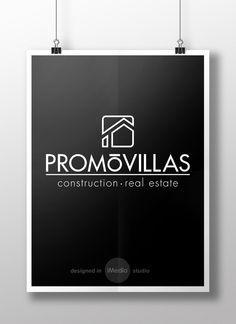 #diseño #logo y #naming para la promotora inmobiliaria PromoVillas (Costa Blanca, Spain)