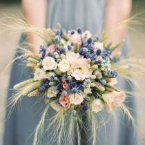 Dusty Blue Wedding Tuxedo Idea