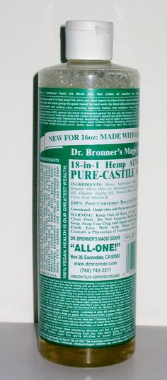 Use Castile Soap and Ditch the Toxins