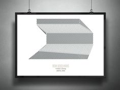 OMA / koolhaas seattle library by Galli Ravasio  http://www.trendhunter.com/trends/archiposters-first-series
