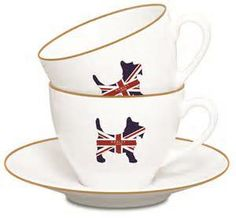 British tea cups