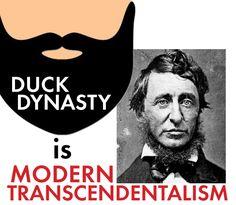 Examples of transcendentalism in modern media