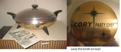 cory party chef - you can cook in it and then use it as a warmer.  love me some spaceship lookin cookin :)  - wendy in st. louis