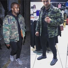 #kanyewest#vs#me#inspiration#motivation#camo#camouflage#army#jacket#blackandwhite#yezzy#adidas#yezzy350#sneakers#trainers#outwear#fashion#clothing#clothes#boots#menswear#mensfashion#fashionista#streetstyle#streetfashion#shopping#cool# by 2rado1