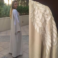 Abaya bisht hand work by OC fashion design