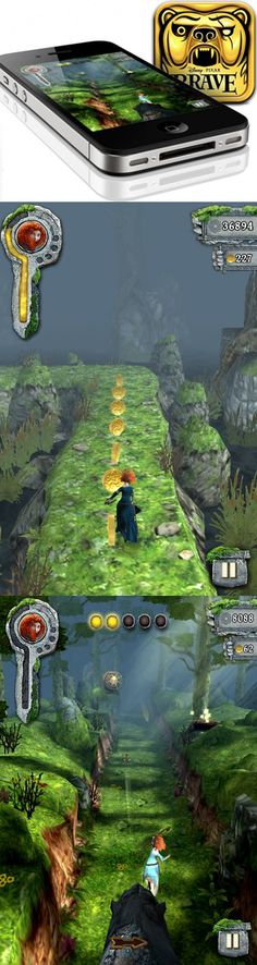 Temple Run Brave - Pixar //   Check out the game