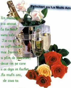 Risultati immagini per la multi ani png Birthday Greetings, Birthday Wishes, Happy Birthday Drinks, Wine Bottle Images, Hyper Realistic Paintings, Images Gif, Take The Cake, Colorful Birds, Good Morning Images