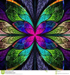 stained glass door flowers - Google zoeken