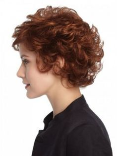 Curly Capless Short Synthetic Wig