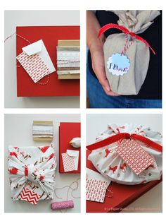 Holiday Fabric Wrapping