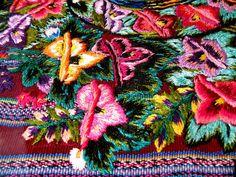 Close-up of Guatemalan Textile