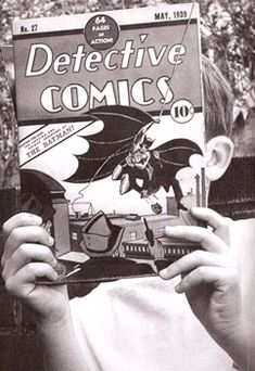 vintage comic readers
