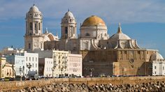 The cathedral in Cadiz, Europe's oldest city, was built over 116 years and sits on the site of the original church completed in 1260.