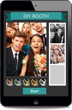 DIY Booth - build your own photo booth - app for iPad