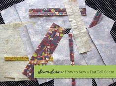 Seam Series: How to Sew a Flat Fell Seam