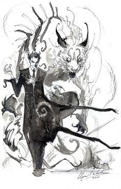 Klarion The Witch Boy by Abz-J-Harding