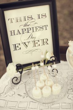 Printing sweet quotes and framing them. Inexpensive statement