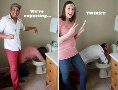 Best pregnancy announcement idea.