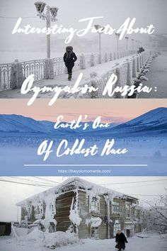 Interesting Facts About Oymyakon Russia: Earth's One Of Coldest Place - The Yolo Moments Best Places To Live, Places To Travel, Places To See, Travel Destinations, Backpacking Europe, Beautiful Places In The World, Beautiful Scenery, Coldest Place On Earth, Interesting Blogs