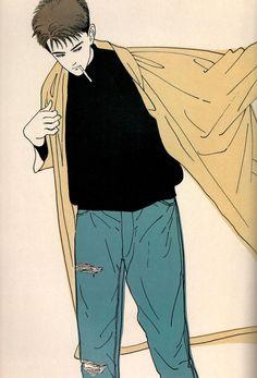 Eguchi Hisashi World Character Inspiration, Character Design, Drawn Art, Illustrations, Picture Design, Cute Illustration, Art Sketchbook, Drawing Reference, Art Inspo