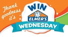 Today only, enter to #winElmer's NEW CraftBond Less Mess Hot Glue Sticks & Enhanced Safety Hot Glue Gun!