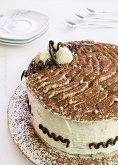 Tiramisu. Italian Desert, Chocolate Desserts, Amazing Cakes, Muffins, Cookies, Baking, Ethnic Recipes, Easy, Puddings