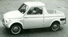 It's a 500mino! (1962 Fiat 500 Ziba, styled by Ghia)