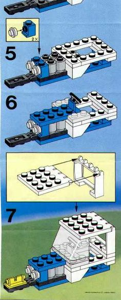 LEGO 6524 Blizzard Blazer instructions displayed page by page to help you build this amazing LEGO City set Lego City Sets, Lego Sets, Lego Tractor, Lego Fire, Lego Club, Lego Pictures, Lego Craft, Vintage Lego, Lego Group