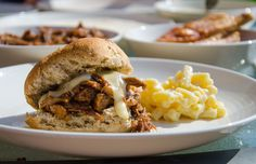 Slow Cooked BBQ Pulled Pork & Beer Cheese Sauce