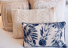 The Eden embellished cushion is simply stunning. Beautiful soft and luxurious in a simple yet stylish design. SIZE: 40 x 60 cm Natural Cotton Available in Beige and Natural/Cream Boho Cushions, Cushions On Sofa, Throw Pillows, 2015 Trends, Living Room Sofa, Cushion Covers, Design Trends, Beige, Texture