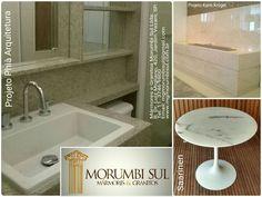 Projetos executados por MGMorumbiSul #Granito #Mármore #Saarinen