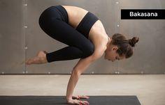 Yoga For Concentration - Bakasana (Crane Pose) Hatha Yoga Poses, Vinyasa Yoga, Yoga For Concentration, Crane Pose, Dancers Pose, Eagle Pose, Yoga Diet, Baby Yoga, Yoga Lifestyle