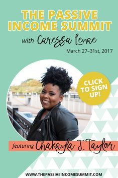 Chakayla J. Taylor is sharing all about hosting in-person events to build your tribe and income! Grab your free ticket by clicking through