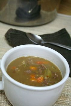 Simple Super Easy Beef Barley Soup