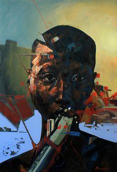 Pavle Maksimovic, Mwanamke, 120cm x 80cm, Oil on canvas 2015. on ArtStack #pavle-maksimovic #art