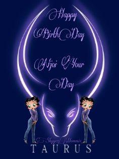 Happy BirthDay Taurus, Betty Boop Taurus Betty Boop Birthday, Happy Birthday, Spice Mixes, Taurus, Movie Posters, Movies, Art, Happy Brithday, Spice Blends