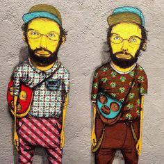 Os Gêmeos ♥. #osgemeos http://www.widewalls.ch/artist/os-gemeos/