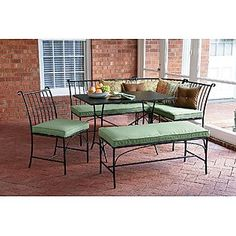 Patio Furniture With Pillows ($330, Was $600   Sears)   Country Living  Thompson