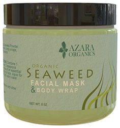Organic Seaweed Powder Ascophyllum Nodosum Kelp  AgeDefying Natural Facial Mask  Body Wrap  Helps Improve Skin Complexion  ChemicalFree  Ideal For Sensitive Skin  Revitalizes  Refreshes >>> Read more  at the image link.