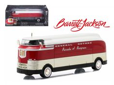 """1950 General Motors Futurliner """"Parade of Progress"""" #11 March of Tools 2015 Barrett Jackson Edition Hobby Exclusive 1/64 Diecast Model by Greenlight - Brand new 1:64 scale car model of 1950 General Motors Futurliner """"Parade of Progress"""" #11 March of Tools 2015 Barrett Jackson Edition Hobby Exclusive die cast car model by Greenlight. Limited Edition. Futuliner Bus #11 sold for a record US $4,000,000 (Plus Premium ) to Arizona Based Real Estate Developer Ron Pratte on January 21, 2006 at a…"""