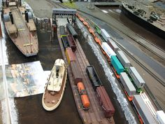 Medina Railroad Museum HO Scale Model Train Layout (13) | by a69mustang4me