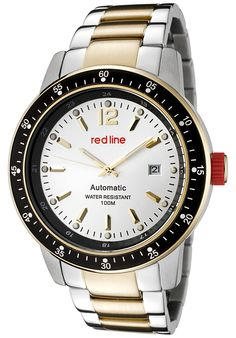 Price:$169.99 #watches Red Line 50013-22S-YGSS, An aura of brilliance. This Red Line timepiece glows with its irradiant charm. Its smooth design will intensify anyone's personality.
