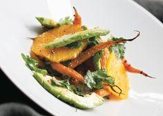 Roasted Carrot, Orange And Avocado Salad Recipe | Food Republic