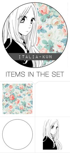 """""""icon"""" by italia-kun ❤ liked on Polyvore featuring art"""