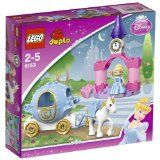 Black Friday 2014 LEGO DUPLO Disney Princess Cinderella's Carriage - 6153 from LEGO Cyber Monday. Black Friday specials on the season most-wanted Christmas gifts. Lego Disney Princess, Lego Princesse Disney, Disney Theme, Lego Duplo, Lego Toys, Lego Games, Cinderella Kutsche, Legos, Cinderella Carriage