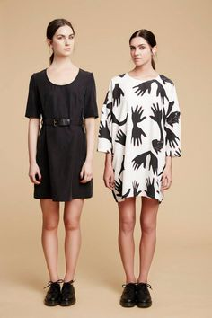R/H : Karla Dress, Square Dress : AW15